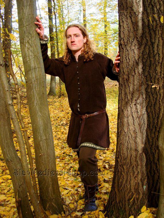 Early Medieval Viking Coat Noble Coat Form Birka Historical Pattern For Viking Reenactors In 2020 Swedish Fashion Viking Clothing Medieval