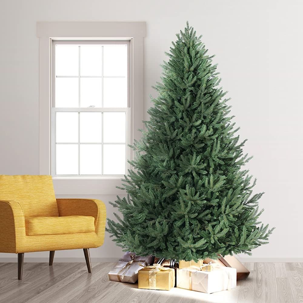Treetopia Oh Artificial Christmas Tree 7 5 Feet Unlit You Can Get More Details By Click Upside Down Christmas Tree Christmas Tree Stand Lighted Tree Topper