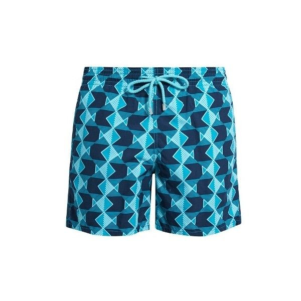 c2fe94dd18 Vilebrequin Moorea Graphic Fishes-print swim shorts (10,665 INR) ❤ liked on  Polyvore featuring men's fashion, men's clothing, men's swimwear,  vilebrequin ...
