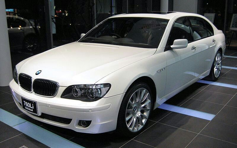 BMW E66 760Li Bmw, Mercedes benz, Benz