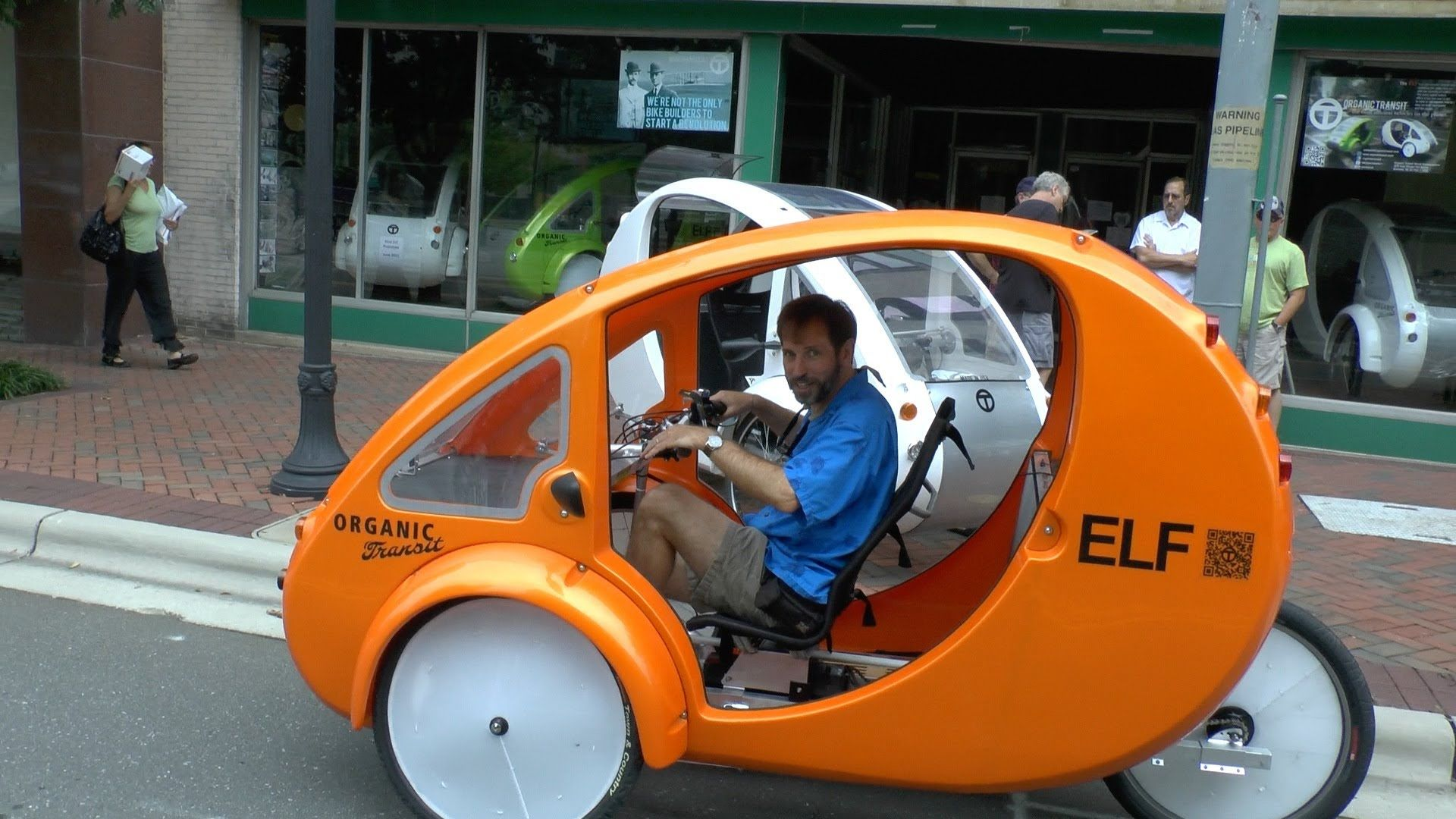 Enclosed Tricycle Is Half Bike Half Car Bicycles For Sale Tricycle Bike Technology