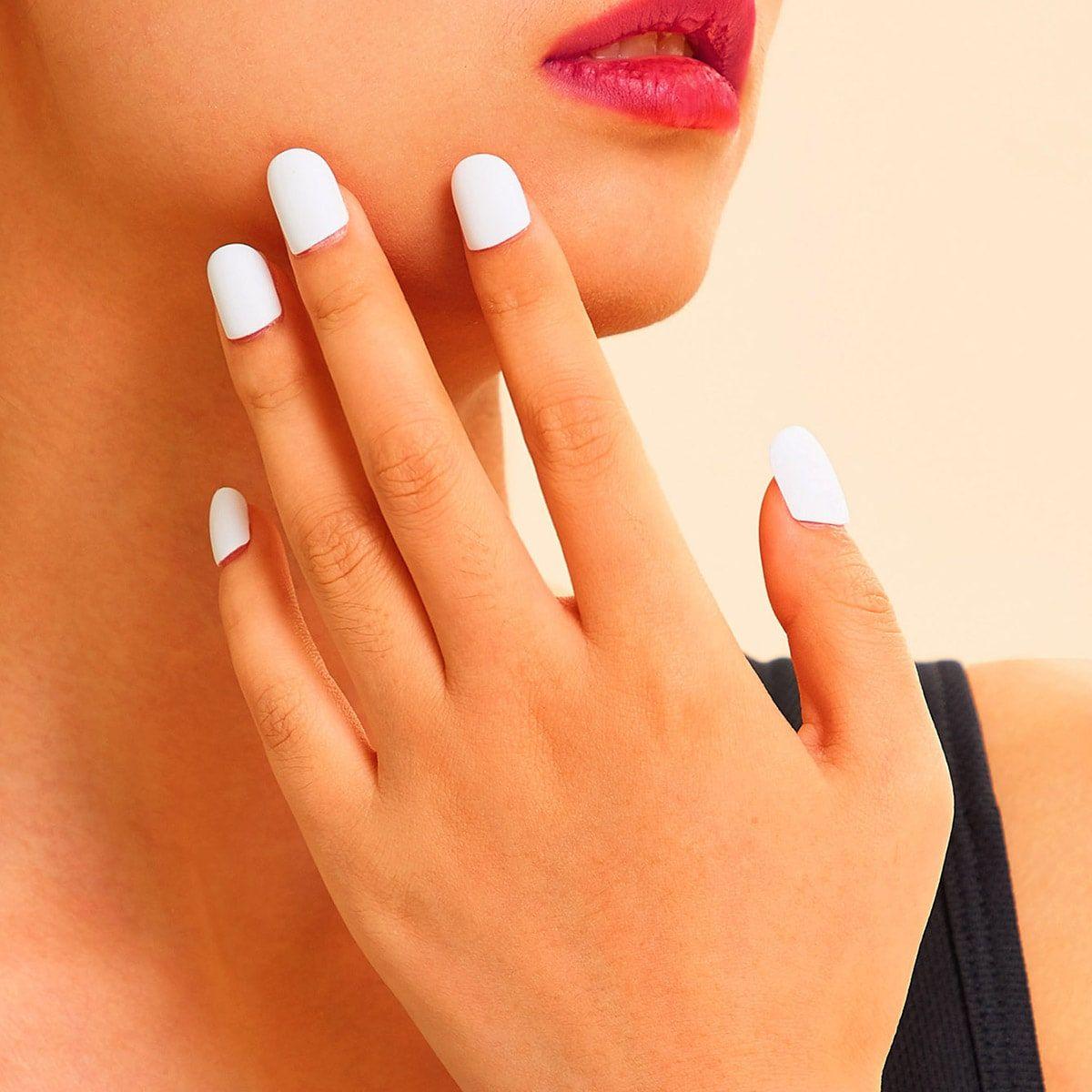 Squoval Fake Nails 24pcs