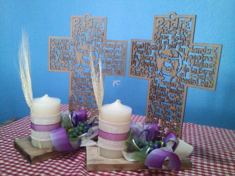 centros de mesa primera comunion que tal qued pinterest communion ideas para and. Black Bedroom Furniture Sets. Home Design Ideas