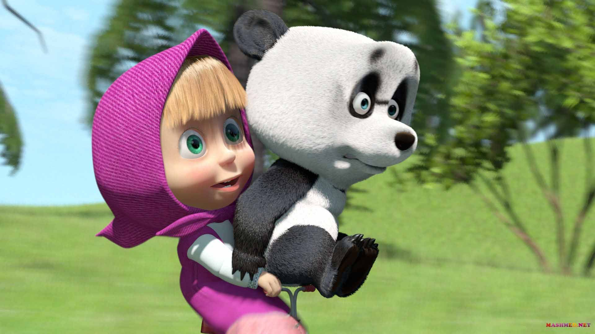 Masha And The Bear Wallpaper Themes Cute Wallpaper