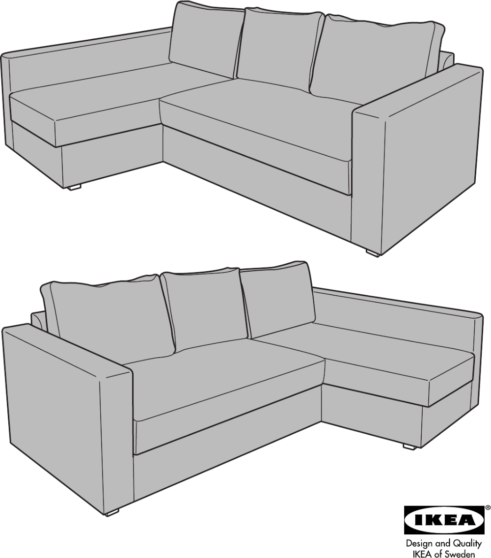 Manstad Sofa Bed With Storage From Ikea Ikea Manstad Corner Sofa Bed Instructions Ikea Manstad Ikea Corner Sofa Bed Sofa Bed With Storage Sofa Bed Furniture