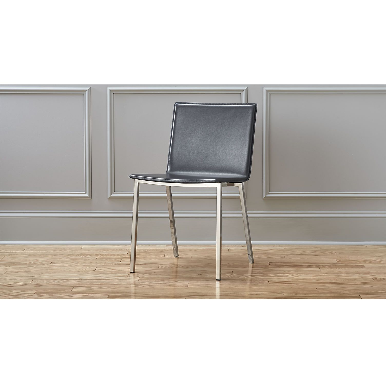 phoenix carbon grey chair phoenix nickel finish and grey