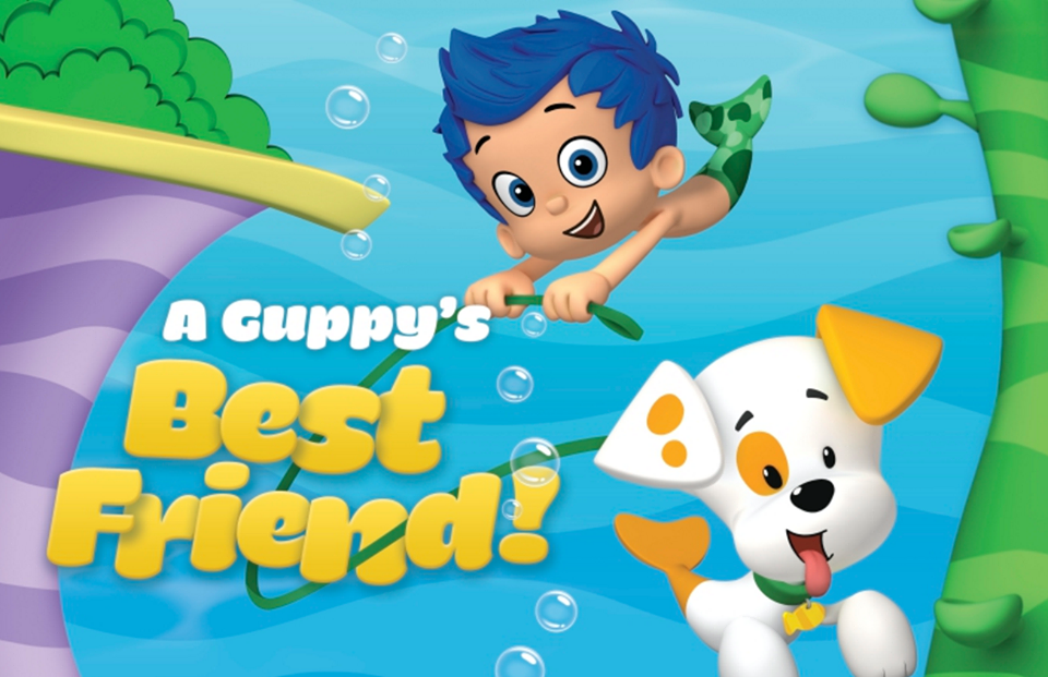 Gil And Bubble Puppy Mario Characters Guppy Best Friends