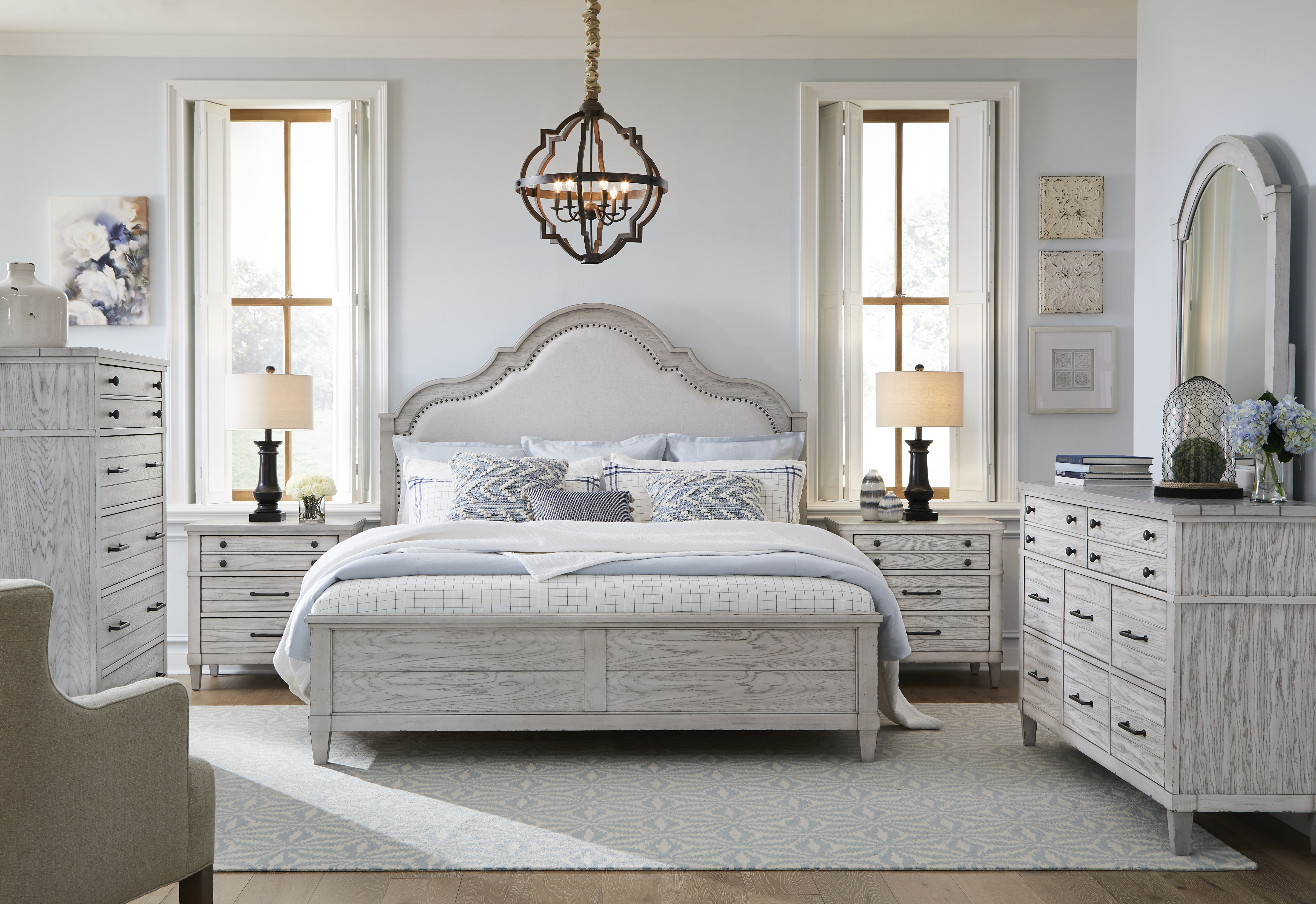 Belhaven Bedroom Weathered White Legacy Classic Furniture
