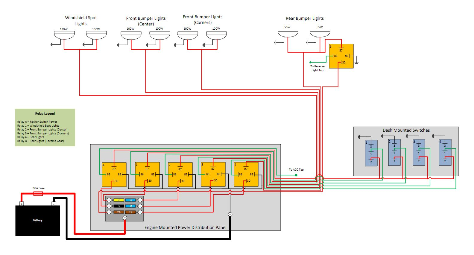 [DIAGRAM_1CA]  Relay s   Automotive electrical, Overlanding, Jeep   Cherokee Horse Trailer Wiring Diagram      Pinterest