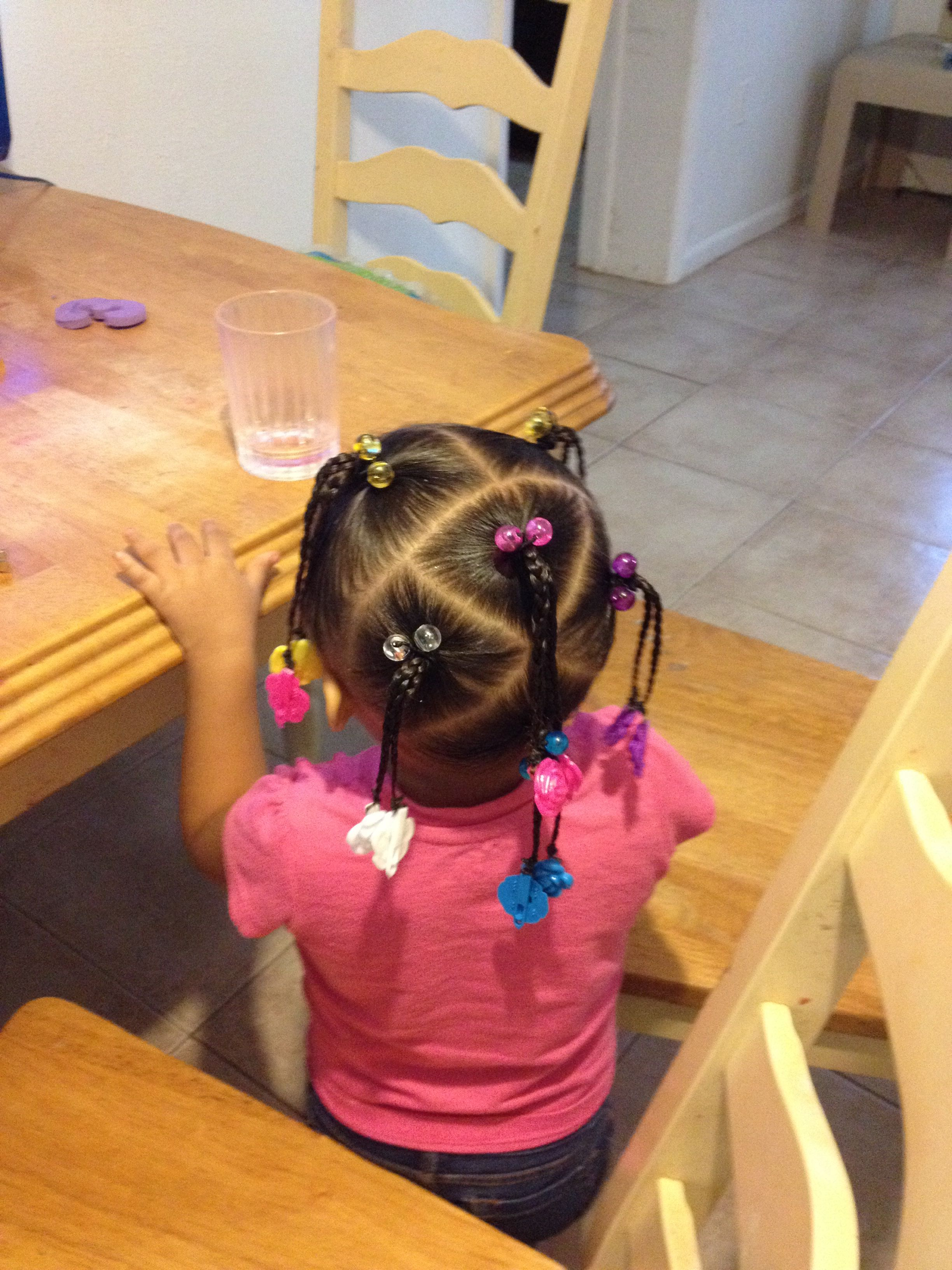 cute mixed hairstyle | hairstyles for mixed toddler girl