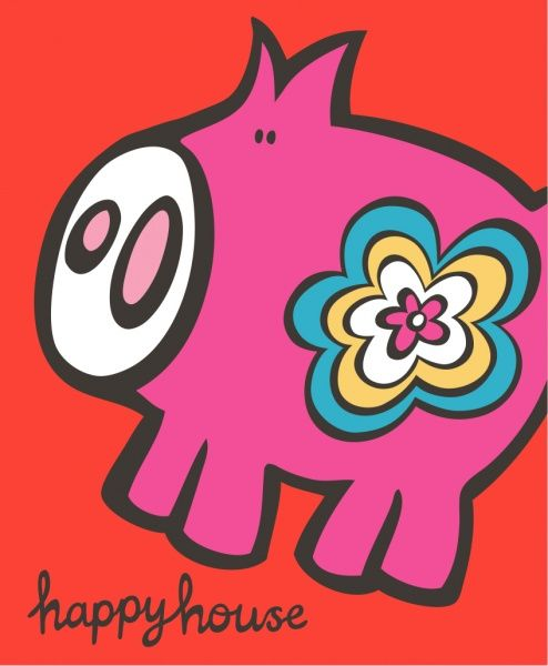 Happy House Iggi Love Illustration For Kids In 2018 Pinterest