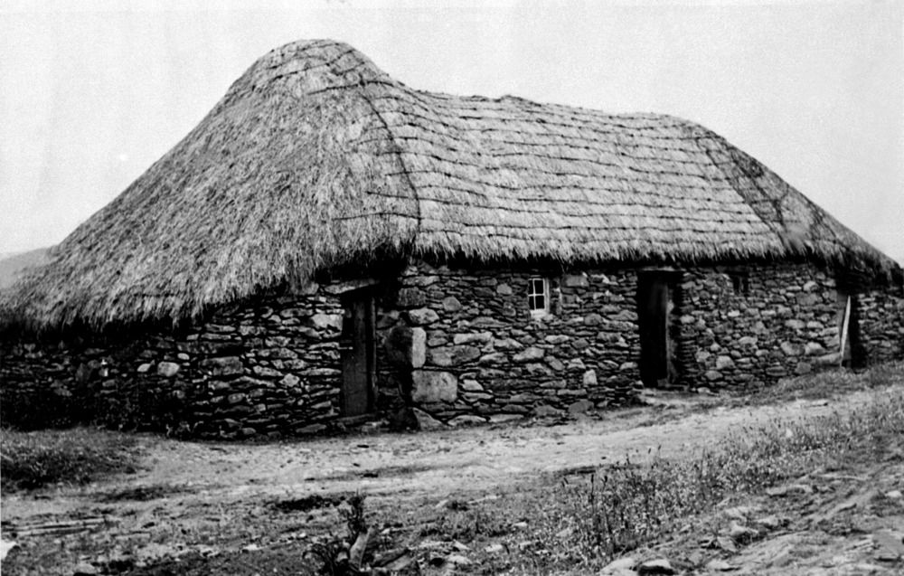 Ucd Digital Library Mobile Thatched Roof Cottages By The Sea Roof