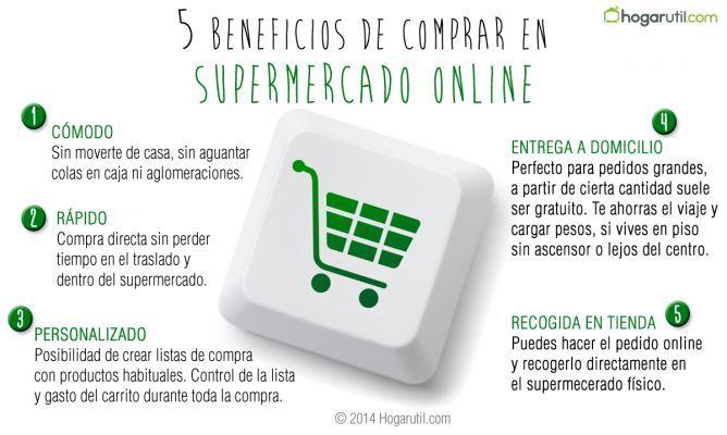 5 Beneficios De Comprar En Supermercados On Line