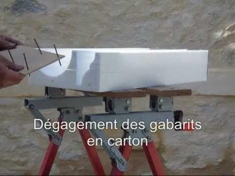 Création Dun Moule En Polystyrène Pour Pilastre En Pierre