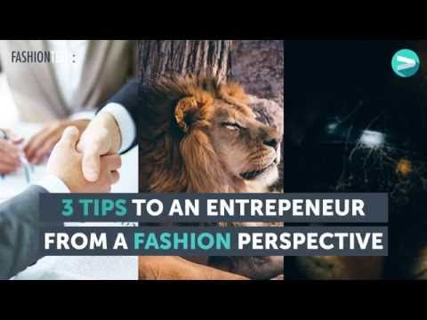 3 Tips for Entrepreneurs from VILLOID- with Jeanette Dyhre Kvisvik #Fashiontech - YouTube