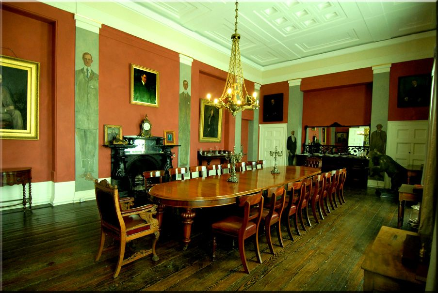Lissadell Dining Room The Home Of Constance Markievicz And