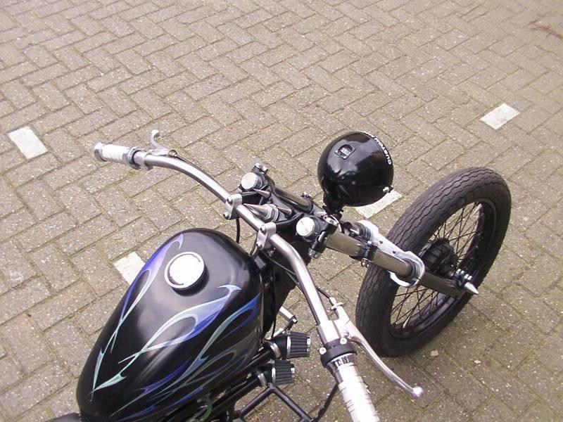 Honda Mt 5 Moped 70cc Chopper