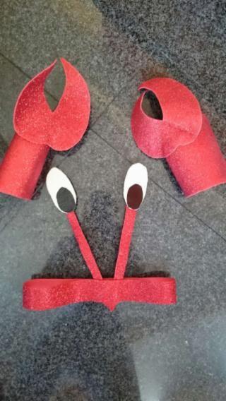 Disfraz de cangrejo buscar con google inspiration customes - Disfraz marinera casero ...