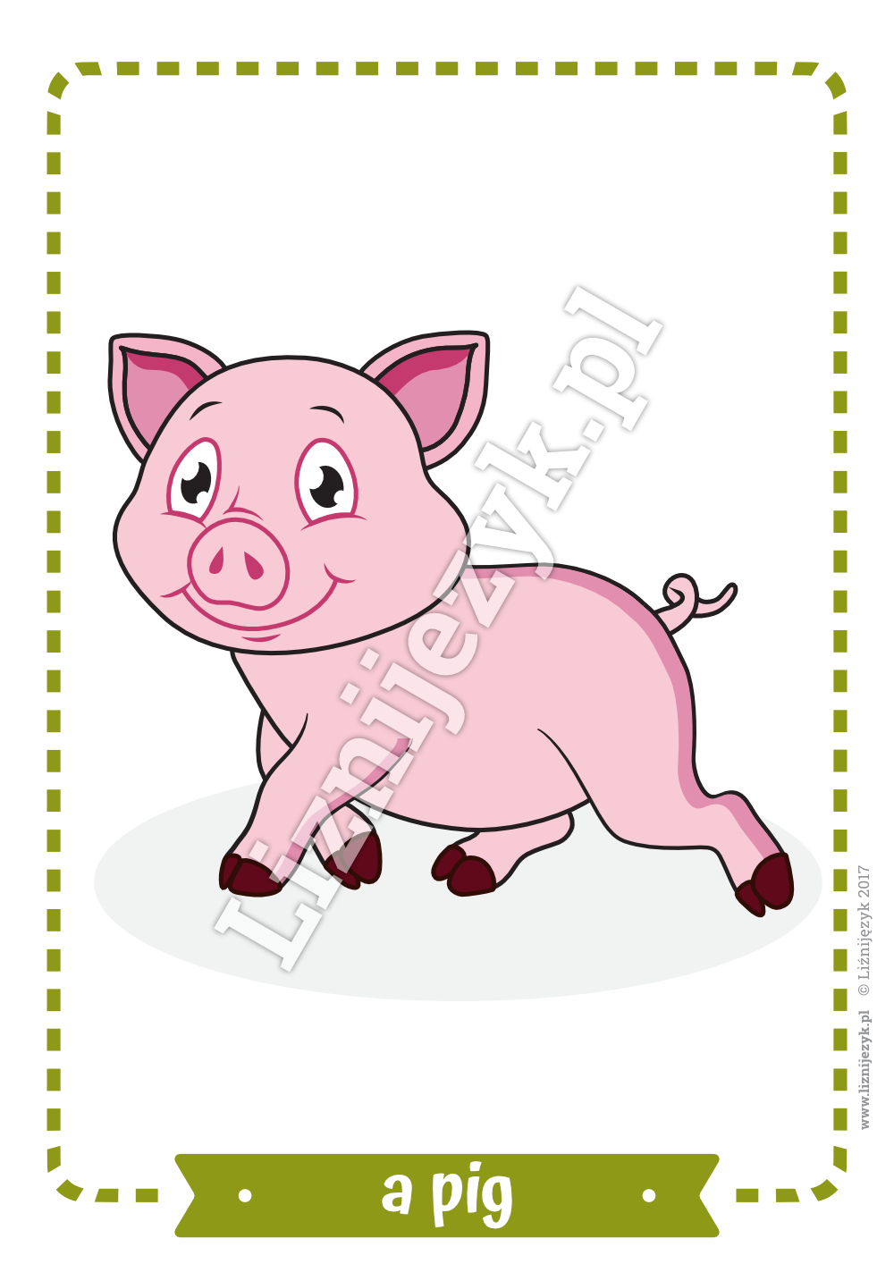 Farm Animals English Flashcards Bahasa inggris, Bahasa