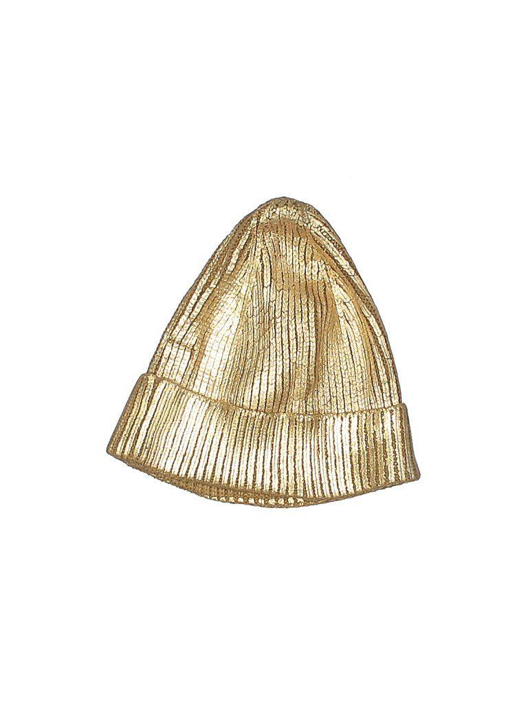 Zara Beanie Hat Gold Accessories In 2021 Gold Accessories Stylish Caps Beanie Hats