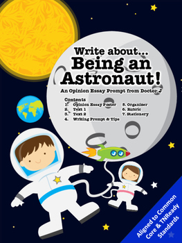 Descriptive Essay Thesis Astronaut In Space Opinion Essay Writing Prompt Common Core Tnready Aligned  Rd Th Th Grade Healthy Food Essays also Essay Proposal Outline Astronaut In Space Opinion Essay Writing Prompt Common Core Tnready  English Essay Pmr
