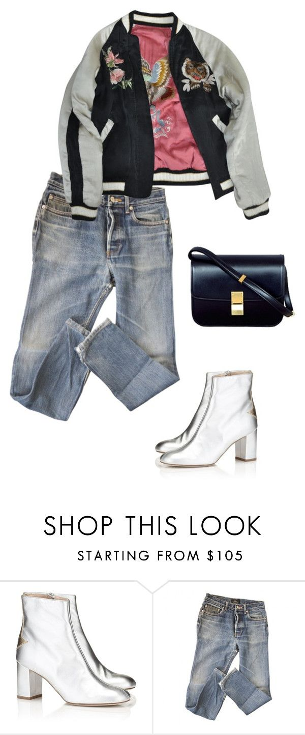 """#21"" by acerose ❤ liked on Polyvore featuring Camilla Elphick, A.P.C., Isabel Marant, CÉLINE, celine, isabelmarant and apc"