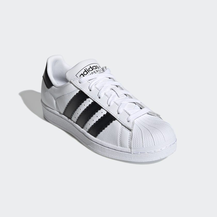 ADIDAS SUPERSTAR DONNA CLOUD WHITECORE BLACK