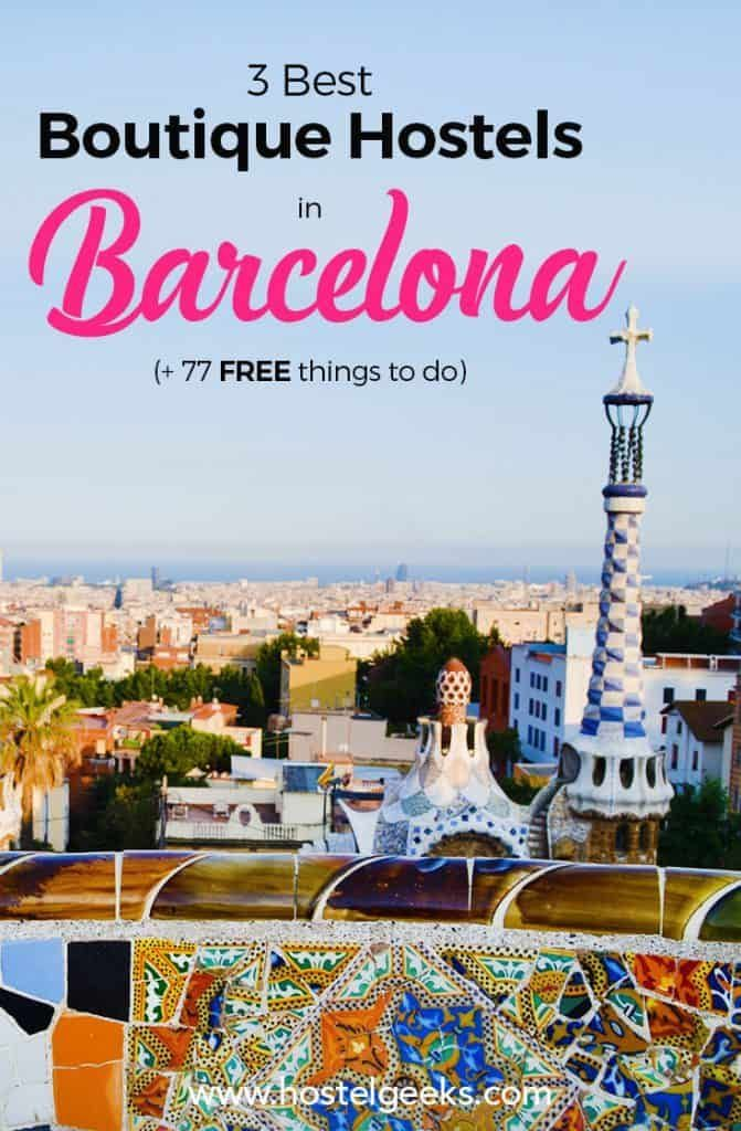 3 Best Hostels in Barcelona – Pure Design and Bohemians of…