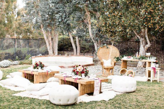 A Bohemian Backyard Bash by Sterling Social | Rue