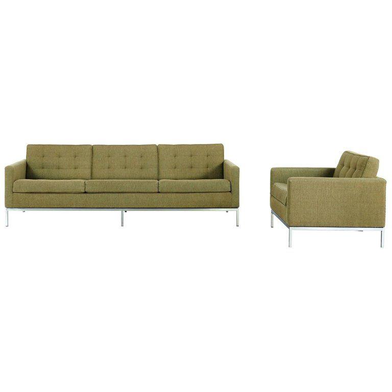 Florence Knoll Sofa Lounge 1954 Knoll International Kvadrat