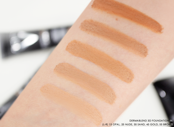 The Vichy Dermablend 3d Review Foundation Swatches Dermablend Vichy