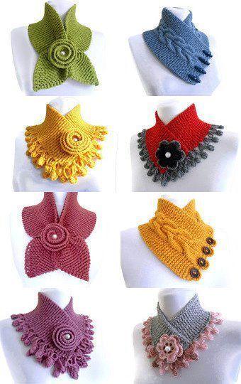 bufanditas | Schals und Tücher häkeln u. stricken | Pinterest ...