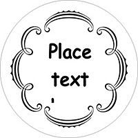 Free avery templates martha stewart whimsical wedding border free avery templates martha stewart whimsical wedding border round labels 12 per sheet pronofoot35fo Gallery