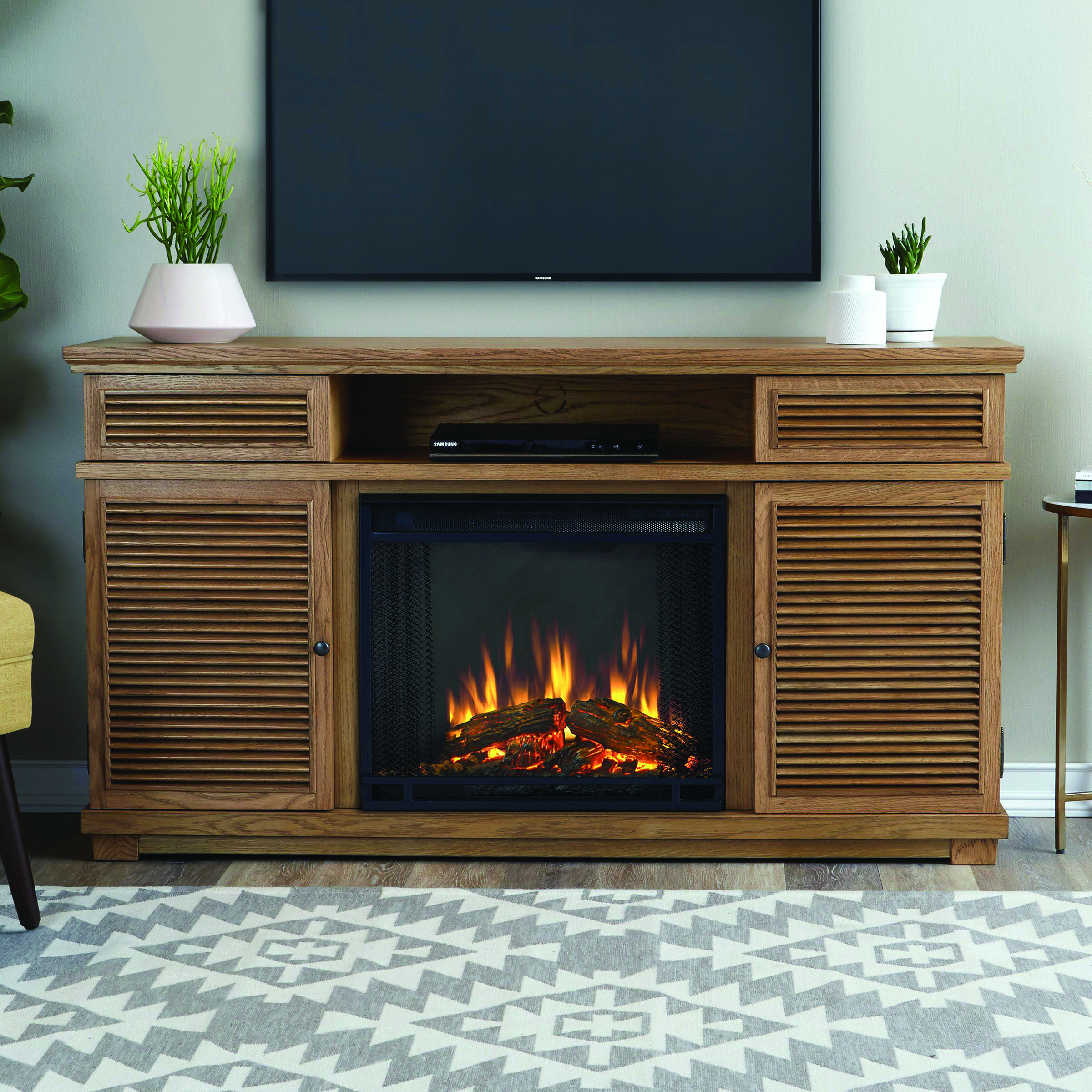 Remarkable Fireplace Tv Stand Conns For Your Home Electric