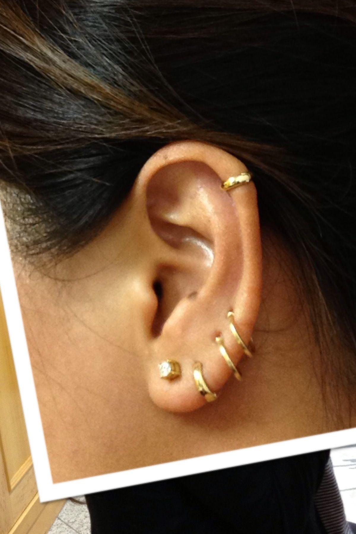 Tragus piercing names  Piercing  ear piercing and tattoo ideas  Pinterest  Piercing