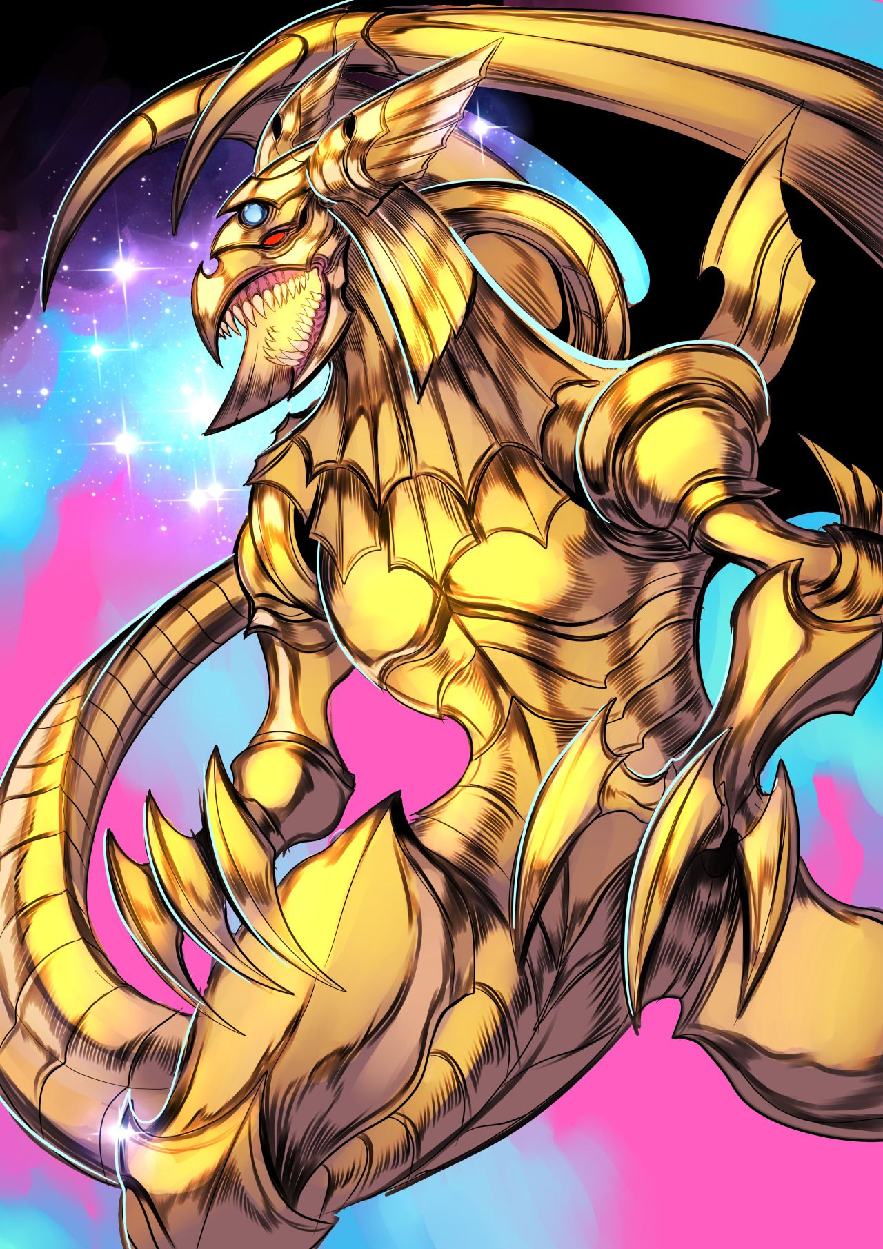 marik u0027s egyptian god card the winged dragon of ra yu gi oh