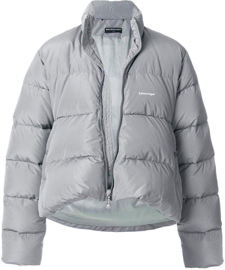 093165909d284 Balenciaga C Shape Puffer jacket | Products in 2019 | Grey jacket ...