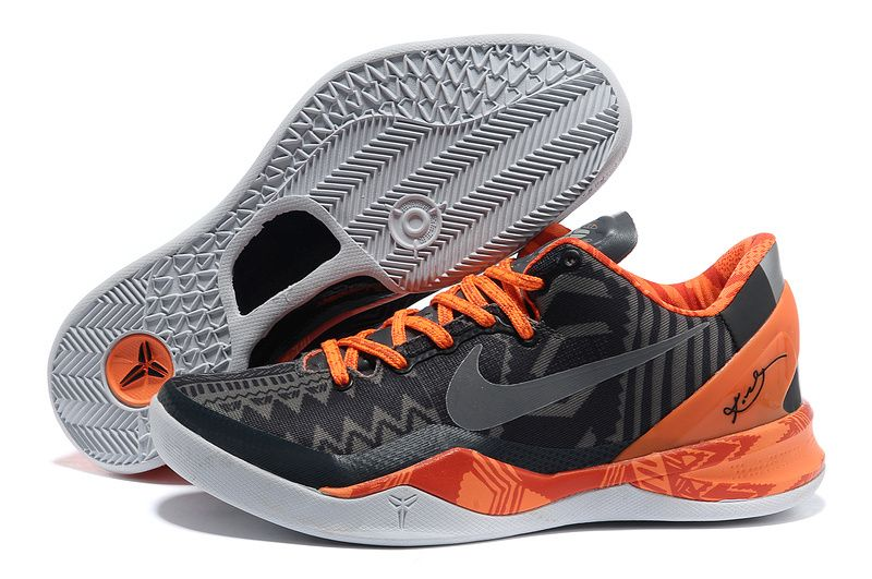 Mens Nike Zoom Kobe 8 Viii Orange Shoe Order Online