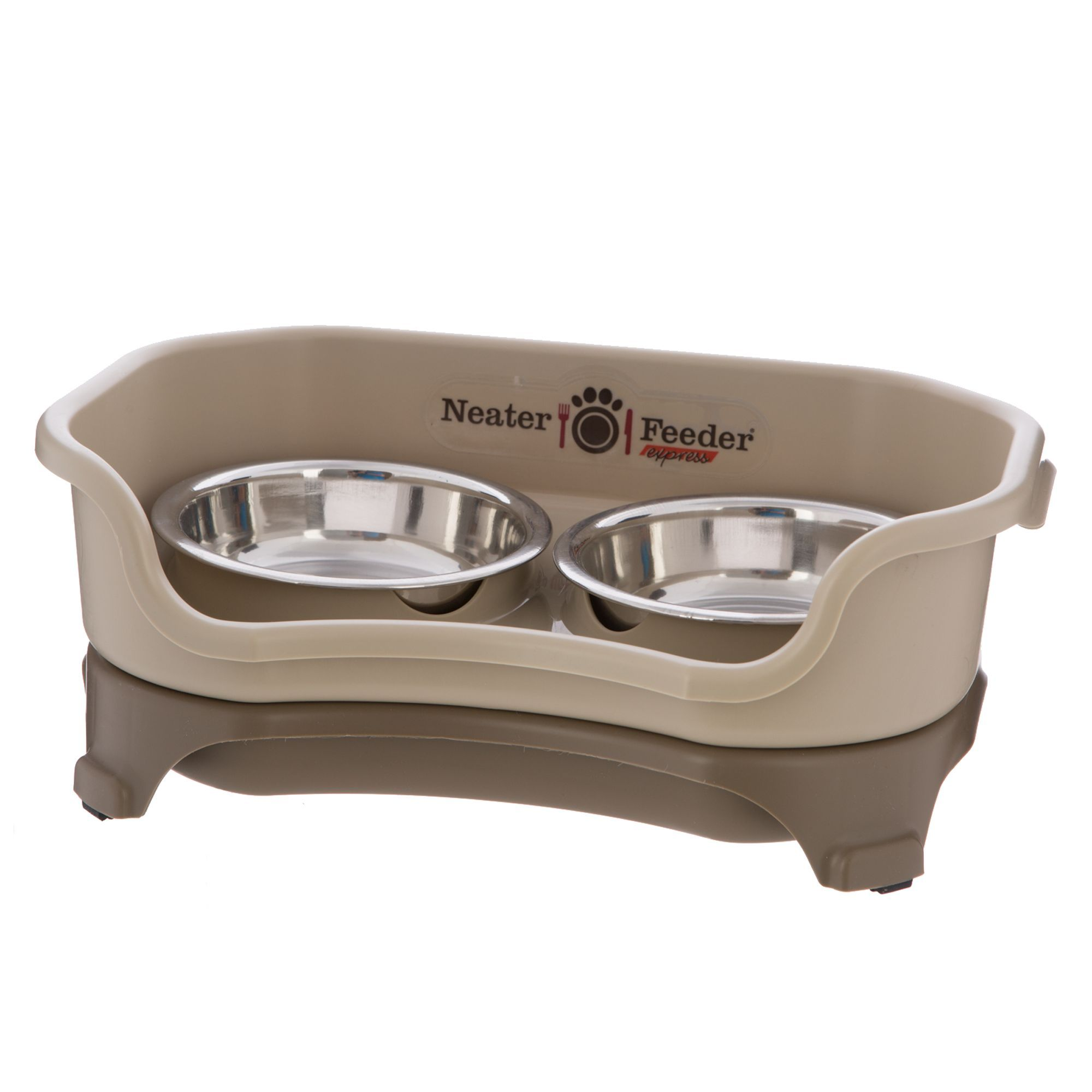 Neater pets neater feeder express cat feeder in tan in