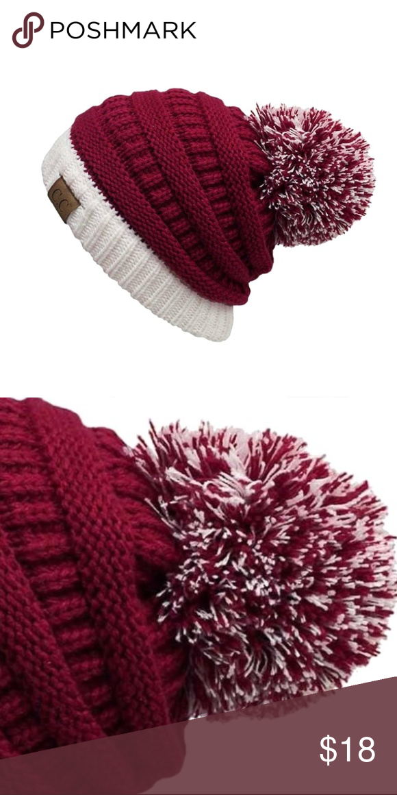 33d77db89ff NWT   BOUTIQUE  Back In STOCK - C.C. POM Beanie Boutique in 2018 ...
