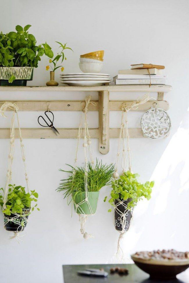 Es werde grün! Geniale Deko-Hacks mit Pflanzen (für die man keinen - dekoration küche selber machen