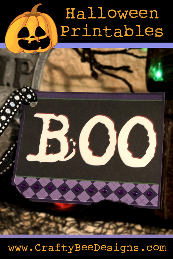 Instant Download Kawaii Halloween Ghosts Printable Tags