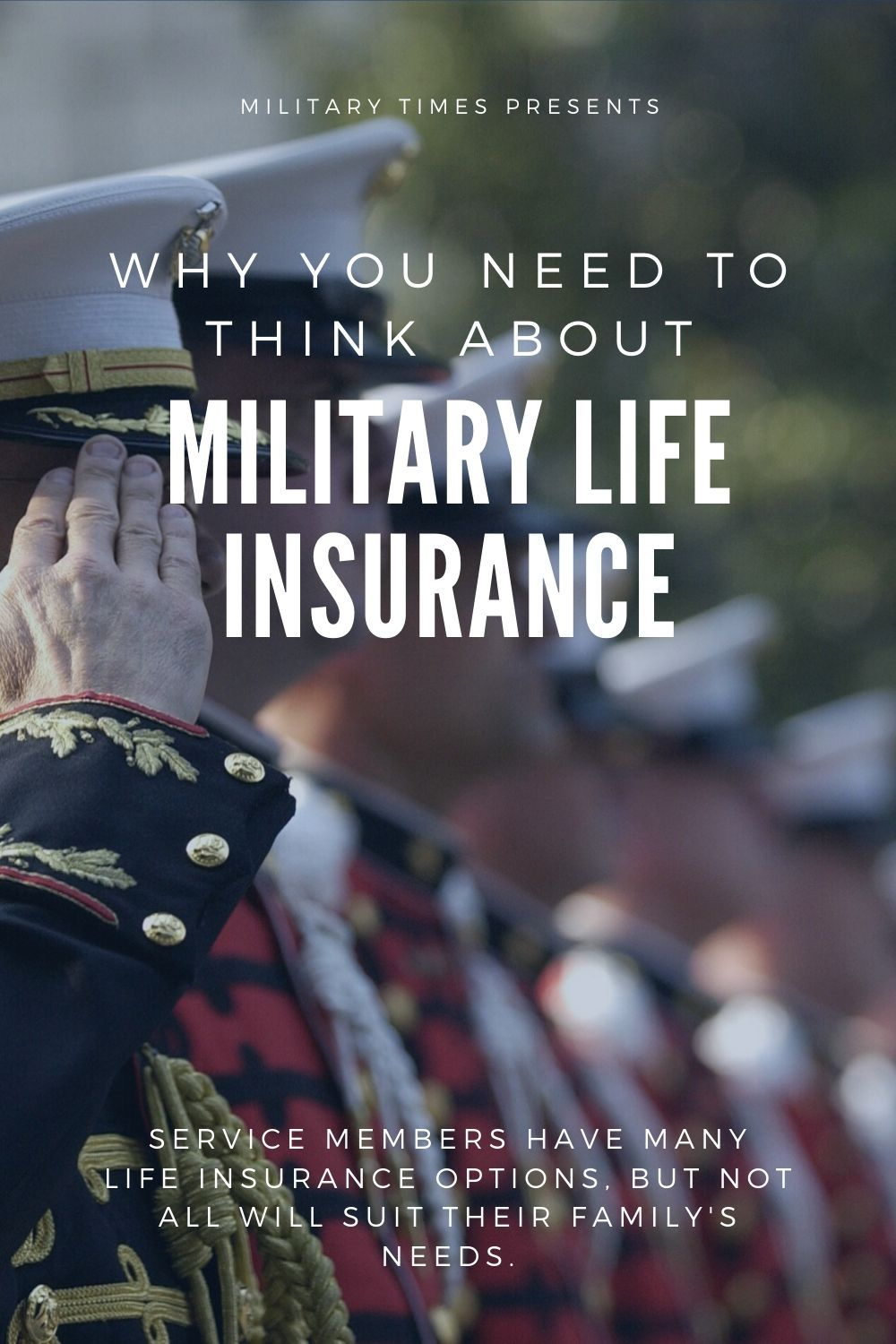Here's why you need to think about military life insurance