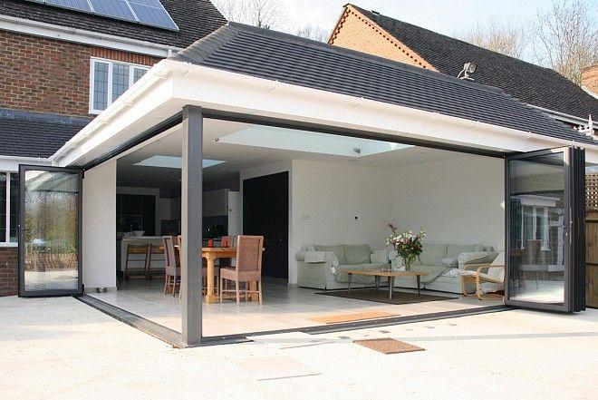 Glass patio enclosure; flat roof | House - Patio | Pinterest ...