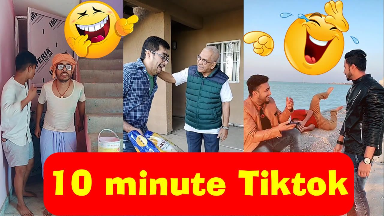 Very Funny Indian Viral Tik Tok 10 Minute Video Compilation 2 Indian Funny Try Not To Laugh Funny Gif