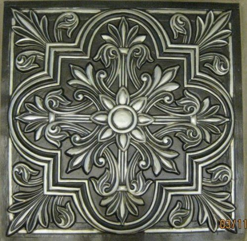 Decorative Plastic Ceiling Tiles Fair Ceiling Tiles Victorian Stile #302 Antique Silver Decorative Design Ideas