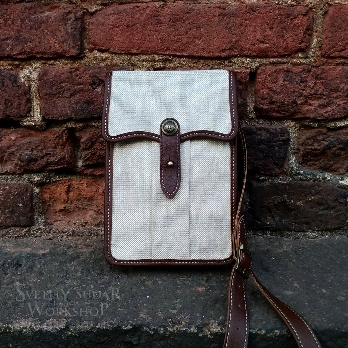Small Travel Bag British India style / Colonial Military