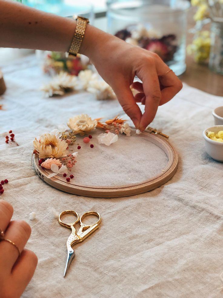 DIY décoration : réaliser un tambour fleuri - SKANDIBLØG