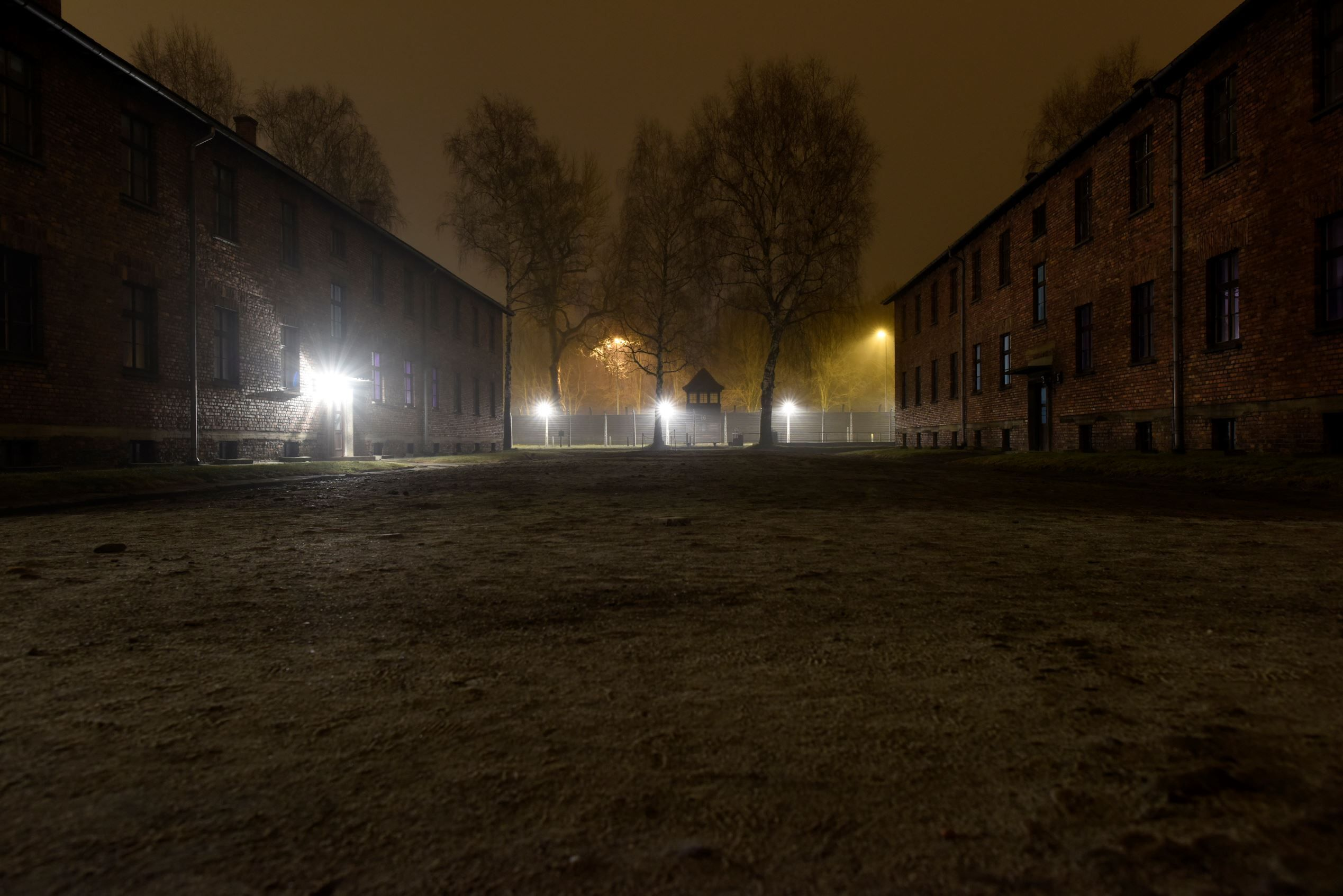 Ghosts of Auschwitz - © REUTERS/Pawel  Ulatowski  - General view of the former German Nazi  concentration and extermination camp Auschwitz in Oswiecim.