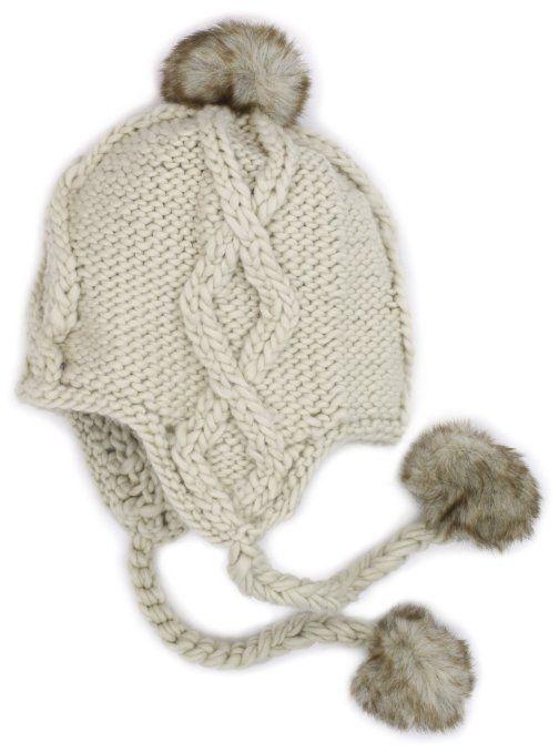 d438c4cbaf0 Amazon.com  San Diego Hat Girls 2-6X Knit Trapper Hat